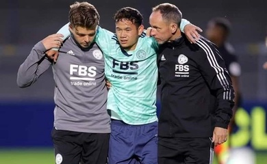 Tuyển thủ Thái Lan gặp chấn thương ở CLB Leicester City