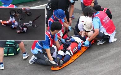 Nhà vô địch Olympic vượt qua cơn nguy kịch sau tai nạn nghiêm trọng