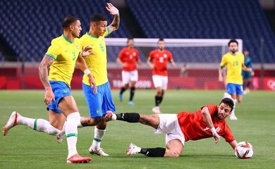 Kết quả bóng đá U23 Brazil vs U23 Ai Cập, Olympic 2021