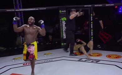 LFA 113: Võ sĩ MMA bắt đối thủ xin thua bằng đòn quật rợn người