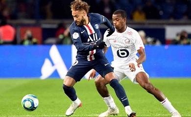 Kết quả bóng đá Lille vs PSG, video Siêu cúp Pháp 2021