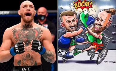 Conor McGregor sẽ đấu Boxing từ thiện trên xe lăn?