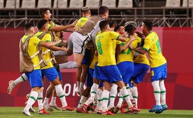 Kết quả bóng đá U23 Brazil vs U23 Mexico, bán kết Olympic 2021