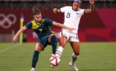 Lịch trực tiếp Bóng đá TV hôm nay 5/8: Nữ Úc vs nữ Mỹ