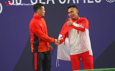 """Vì sao cử tạ Indonesia cho Việt Nam """"ngửi khói"""" ở Olympic?"""