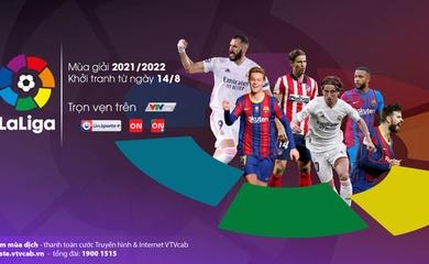 Trực tiếp bóng đá Tây Ban Nha La Liga hôm nay trên kênh nào?