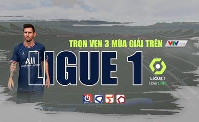 Trực tiếp bóng đá Pháp/Ligue 1 hôm nay trên kênh nào?