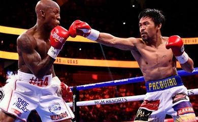 Kết quả Boxing: Yordenis Ugas đả bại Manny Pacquiao, bảo vệ đai WBA Super
