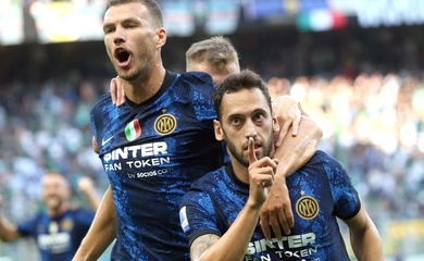 Bảng xếp hạng Serie A 2021/2022, BXH bóng đá Ý mới nhất