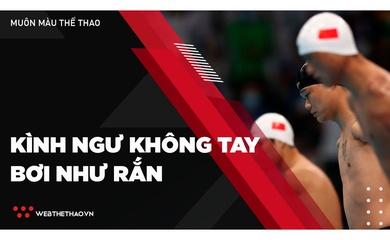 Kình ngư không tay bơi như rắn đánh bại Thanh Tùng tại Paralympic 2020