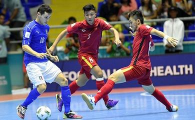 VTV5, VTV6 trực tiếp bóng đá futsal Việt Nam ở World Cup 2021 hôm nay