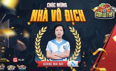 Chung kết AoE Cơm Có Thịt lần 2: Hoàng Mai Nhi lên ngôi vô địch