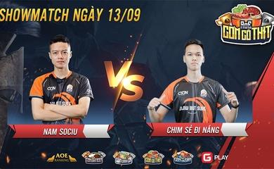 AoE: Chim Sẻ Đi Nắng vs Namsociu - Showmatch khẳng định chính mình