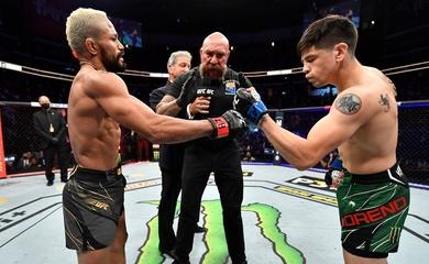 Brandon Moreno bảo vệ đai ở trận đấu thứ 3 với Deiveson Figueiredo tại UFC 269