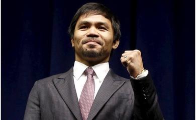 Manny Pacquiao công bố tranh cử Tổng thống Philippines năm 2022