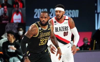LeBron James sắm vai GM, lôi kéo Carmelo Anthony tới LA Lakers