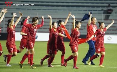 Kết quả bóng đá nữ Việt Nam hôm nay ở vòng loại Asian Cup 2022