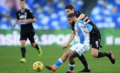 Link xem trực tiếp Sampdoria vs Napoli, bóng đá Serie A