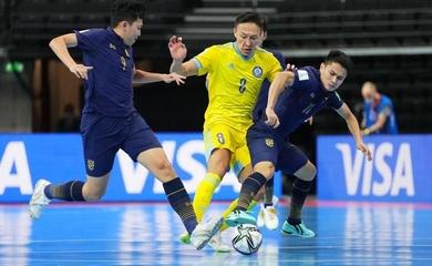 Thảm bại 0-7, Thái Lan đau đớn chia tay futsal World Cup 2021