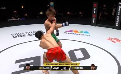 Joshua Pacio knockout Yosuke Saruta bằng đòn pha phản đòn phá trụ tuyệt hảo