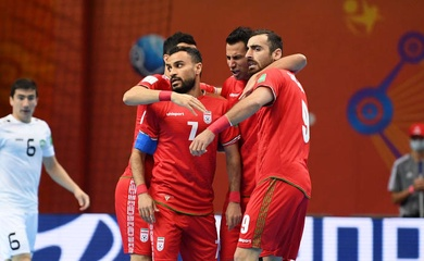 Xuất hiện trận đấu nhiều bàn thắng và siêu điên rồ nhất ở futsal World Cup 2021