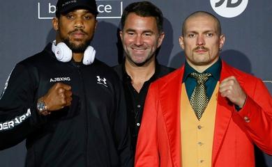 Anthony Joshua và Oleksandr Usyk kiếm bao nhiêu tiền cho trận tranh đai Boxing?