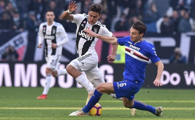 Trực tiếp Juventus vs Sampdoria trên kênh nào?
