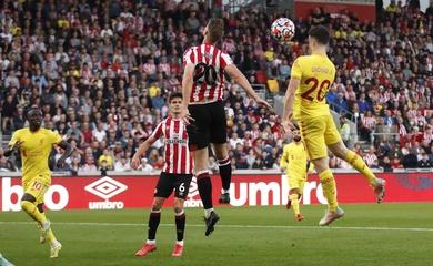 Kết quả Brentford vs Liverpool, vòng 6 Ngoại hạng Anh