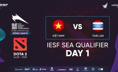 Thua trận mở màn trước người Thái, Dota 2 Việt Nam bất ngờ bỏ cuộc giữa chừng IESF SEA
