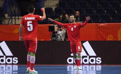 Link xem trực tiếp futsal Iran vs Kazakhstan, tứ kết World Cup 2021