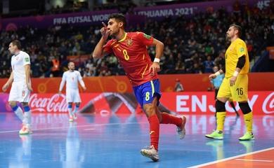 Link xem trực tiếp futsal Bồ Đào Nha vs Tây Ban Nha, tứ kết World Cup 2021