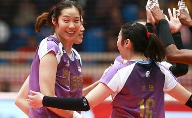 """Thiếu vắng siêu sao Zhu Ting, Thiên Tân vẫn vô địch bóng chuyền """"Olympic Trung Quốc"""""""
