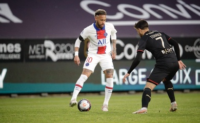 Đội hình ra sân Rennes vs PSG: Tam tấu Messi-Neymar-Mbappe