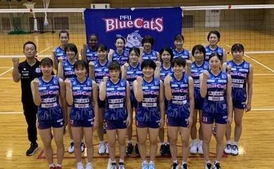 Trực tiếp Thanh Thúy ra sân trận đầu trong màu áo PFU Bluecats