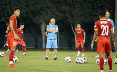 HLV Park Hang Seo đặt ra yêu cầu cao cho cầu thủ U22 Việt Nam