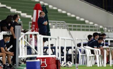 HLV Park Hang Seo tìm lại niềm vui chiến thắng sau 128 ngày