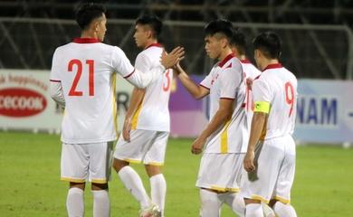 Tỷ số U22 Việt Nam 3-0 U22 Kyrgyzstan: Thắng lợi dễ dàng