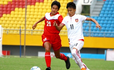 Kết quả nữ Myanmar vs Lebanon, vòng loại Asian Cup 2022