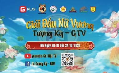Giải cờ Tướng nữ online mừng 20-10 tranh cup Tượng Kỳ GTV