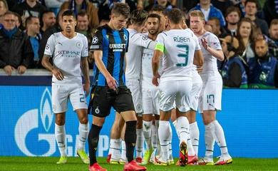 Kết quả Club Brugge vs Man City, vòng bảng cúp C1