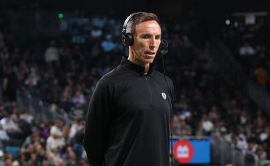 HLV Steve Nash: Brooklyn Nets chưa nóng máy!