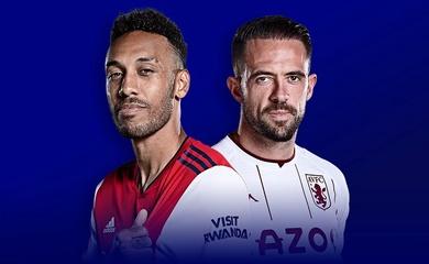 Lịch trực tiếp Bóng đá TV hôm nay 22/10: Arsenal vs Aston Villa