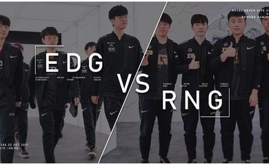 Nhận định RNG vs EDG – Tứ kết CKTG 2021: Nội chiến LPL
