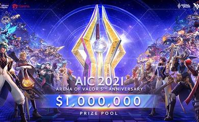 AIC 2021: Giải đấu có giá trị giải thưởng lớn nhất lịch sử Liên Quân