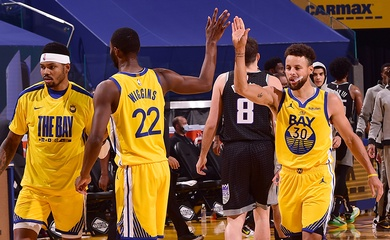 Nhận định NBA 2021-22: Golden State Warriors vs Sacramento Kings (Ngày 25/10 8h00)