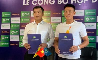Tin chuyển nhượng V.League 2022: Trần Đình Hoàng trở lại SLNA