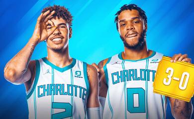 Hạ Brooklyn Nets, Charlotte Hornets khởi đầu tốt nhất lịch sử