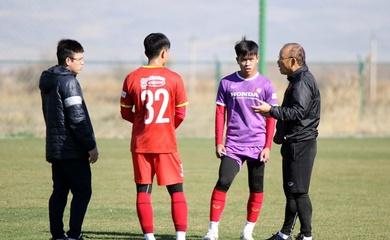 HLV Park Hang Seo chọn quân cho tuyển Việt Nam từ vòng loại U23 châu Á 2022