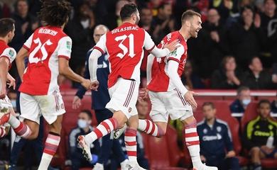 Kết quả Arsenal vs Leeds, vòng 4 cúp Liên đoàn Anh