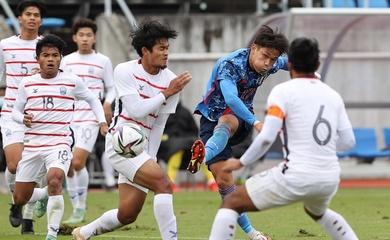 Kết quả U23 Nhật Bản vs U23 Campuchia, vòng loại châu Á